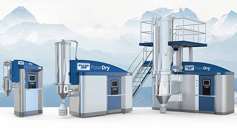 polardry electrostatic spray dryer